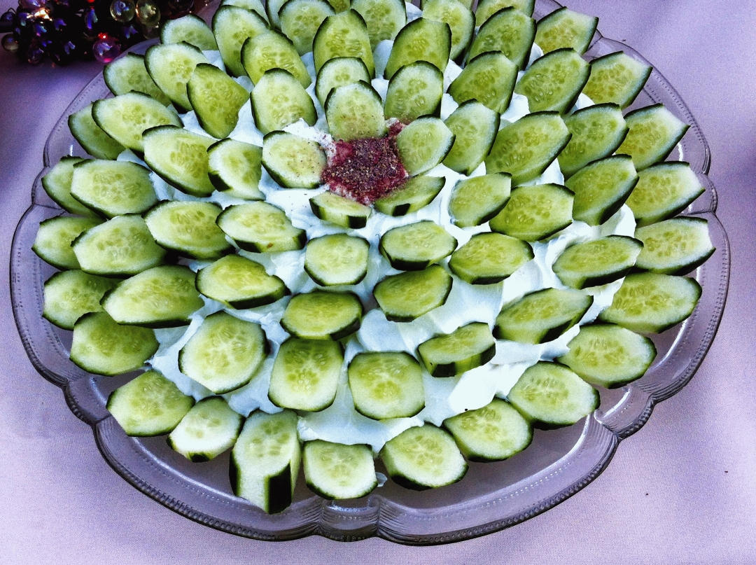 Cucumber Plate Persian Catering Wedding Amp Event Food Catering Services San Jose Ca